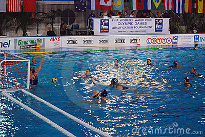 Women s water polo - Italy Editorial Stock Photo