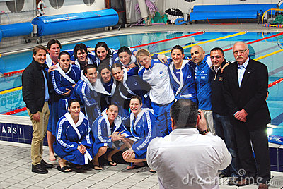 Women s water polo - Italy Editorial Image