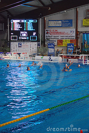 Women s water polo, Italy - Hungary Editorial Image