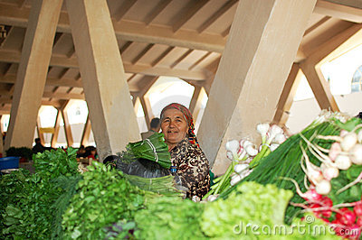 Women selling vegetables in the market Editorial Photo