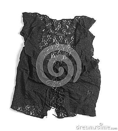 Isolated Black Shirt