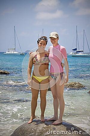 Women in the tropics