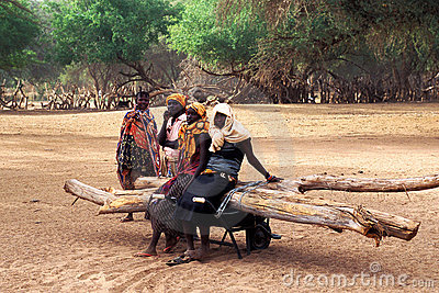 Women Turkana (Kanya) Editorial Stock Image