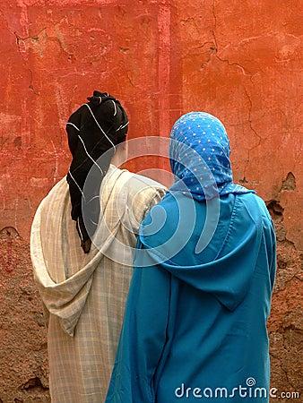 Women in veil