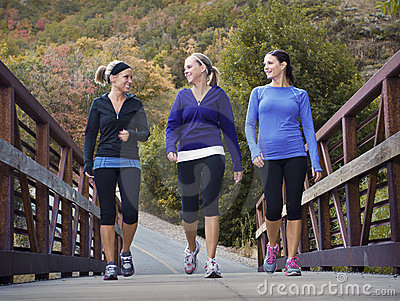 Women Walking Together