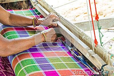 Women weave