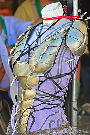 Womens armor breast plate.