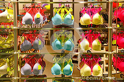 Womens bra collection