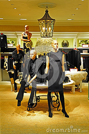 Womens clothing retail store