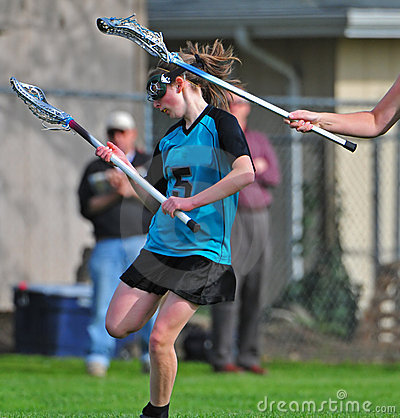 Womens Lacrosse Player 3