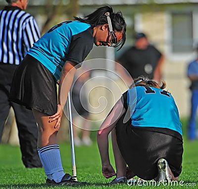 Womens Lacrosse teammates