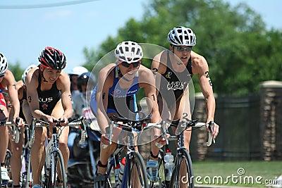Womens triathlon Editorial Photography