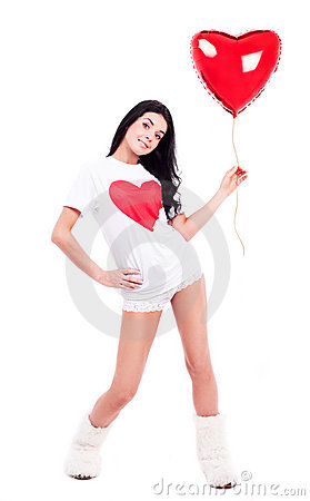 Wonab with a balloon