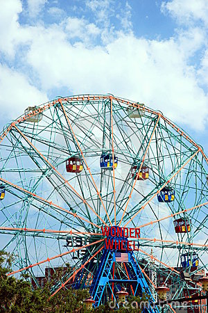 Wonder Wheel Editorial Stock Photo