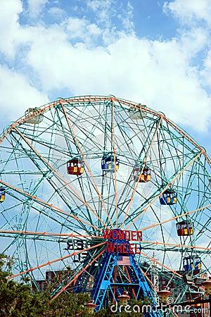 Wonder Wheel Editorial Stock Photo