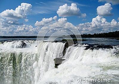 Wonder of the world falls  Iguasu