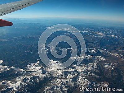 Rocky Mountains Ariel