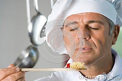 Wonderful aroma of fresh food!