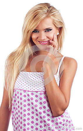 Wonderful Blond Women Stock Image - Image: 24918771