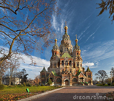Wonderful church in Russia