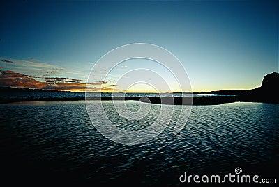 Wonderful Nam-co sunset