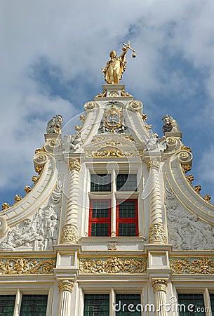 Wonderful rooftop in Bruges