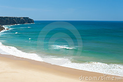 Wonderful sandy beach