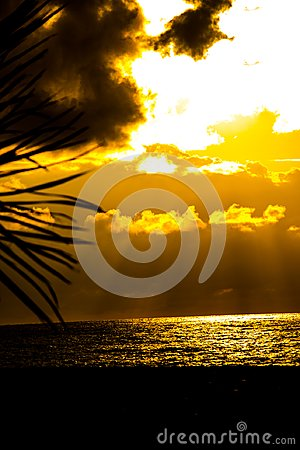 Free Wonderful Sunset Above The Black Sea Looking From The Coast Royalty Free Stock Photography - 116245577