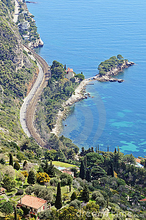 Wonderful view of French Riviera