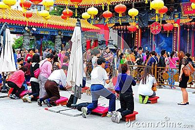 Wong tai sin temple hong kong Editorial Photo