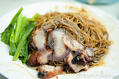Wonton Mee Stock Photo - Image: 53259436