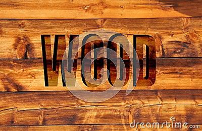Wood in 3D
