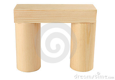 Wood arc