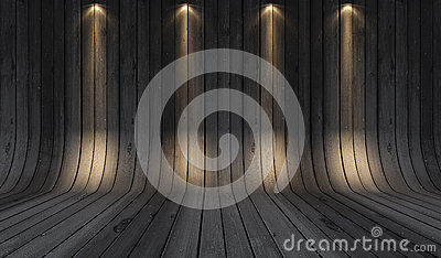 Wood background grey
