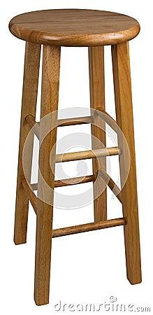 Free Wood Bar Stool Stock Photos - 10500993
