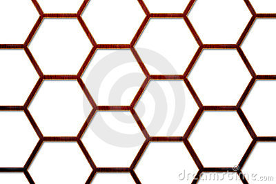 Wood Bee Hive Background 2