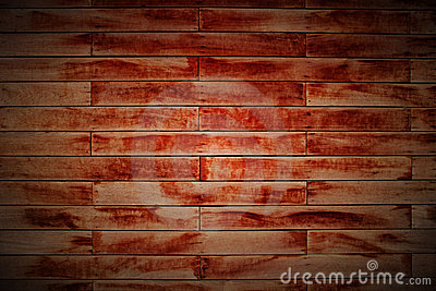 Wood Block Wall In Lomo