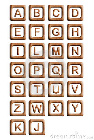 Wood Blocks Alphabet