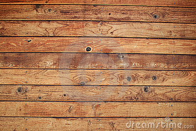 Wood board wall