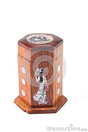 Wood box hand made