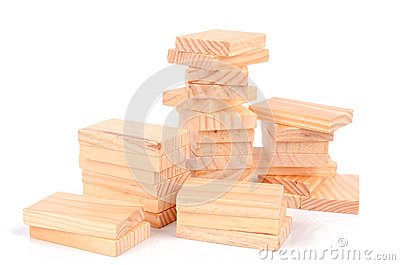 Wood bricks