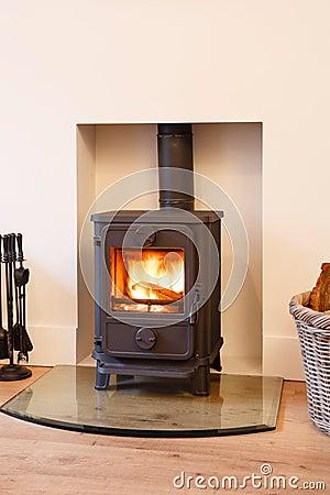 Free Wood Burning Stove Stock Photography - 26728752