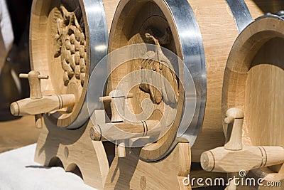 Wood cask