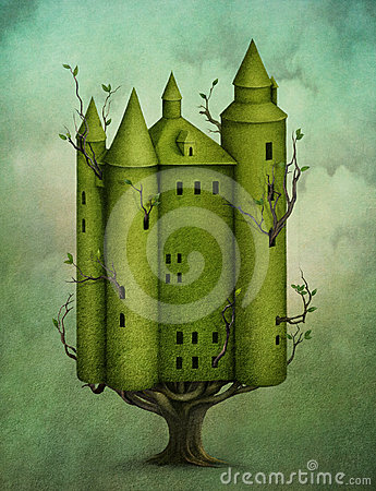 Free Wood Castle Stock Photography - 24607352