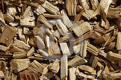Wood chip pattern