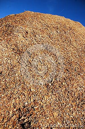 Free Wood Chip Pile Royalty Free Stock Image - 4204376