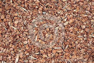 Wood chips used for garden mulch royalty free stock images image 18384129 for Wood chip mulch vegetable garden