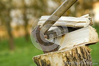 Wood chops