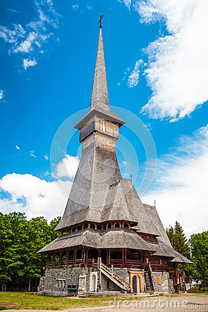 Free Wood Church Royalty Free Stock Images - 47011089