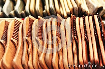 Wood combs